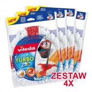 Zestaw 4 Wkłady Easy Wring&Clean Turbo