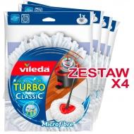 Zestaw 4 Wkłady mopa obrotowego Turbo