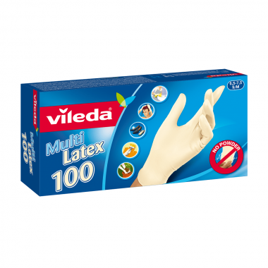 Rękawice jednorazowe Multi Latex 100 szt.